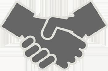 握手 取引成立・商談成立