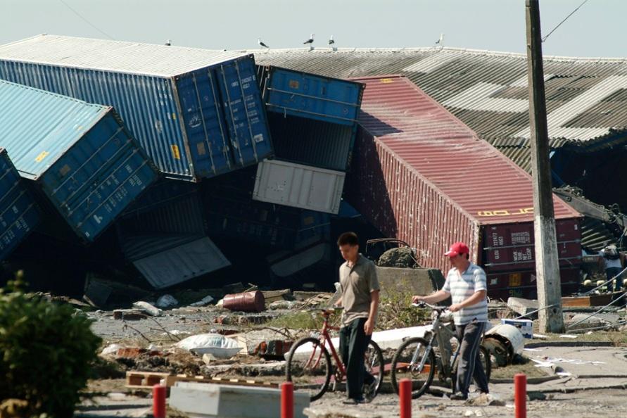 チリ地震(チリ・マウレ地震) 2010年