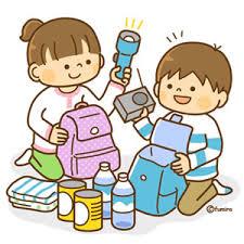 防災 災害 非常用 荷物 準備 被災 子ども