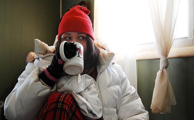 冬 厚着 おしゃれ 風邪 寒さ