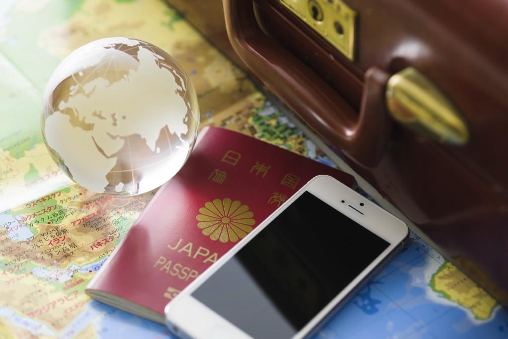 旅行 海外 パスポート