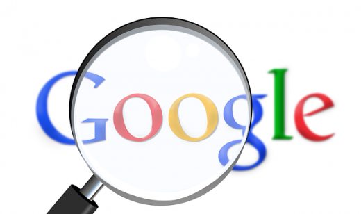 google 検索 虫眼鏡