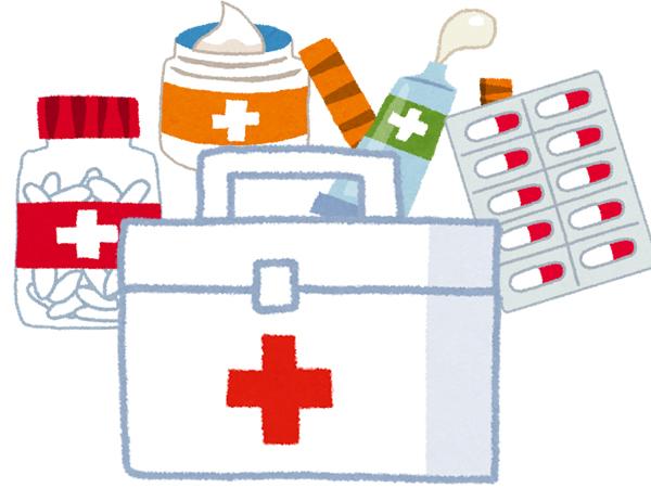 常備薬 薬 絆創膏 救急箱
