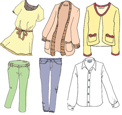 衣類 ファッション
