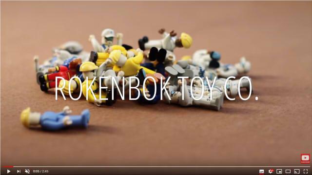 玩具専門店のYouTube画面キャプチャー