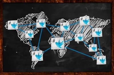 World twitter Connection on Blackboard