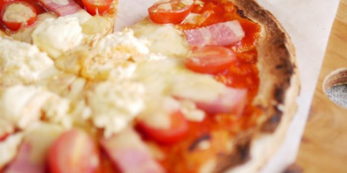 冷凍ピザの調理方法