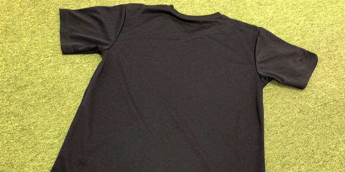 リライブシャツ 背中側